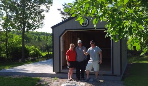 Gable Roof Cottage Style Wooden Storage Shed Sheds Campbellford Ontario
