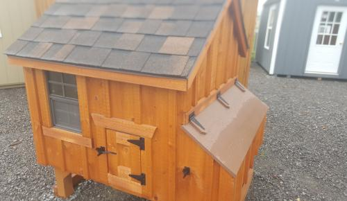 4x4 Chicken Coop A-Frame style Board and Batten Belleville Ontario