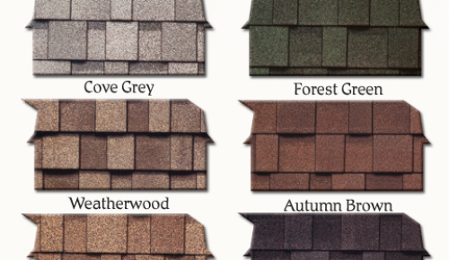 Shingle Roofing Color Options