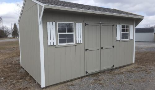 10x16 Quaker Style Storage Shed