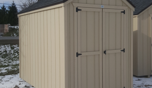 Canadian storage shed 6x10 garden shed