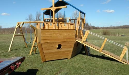 betterwaysheds_childrens play-structure_playground_boat_ ship