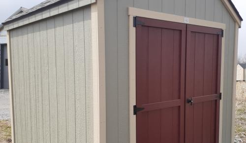 RED DOOR SERIES COTTAGE SHED BETTER WAY SHEDS