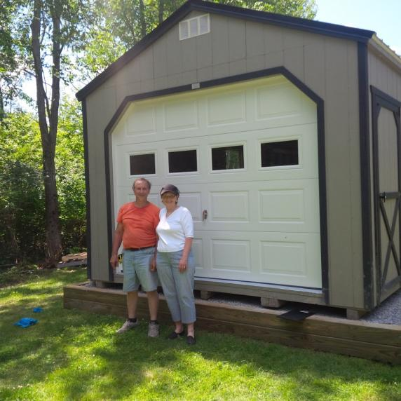 Gable Roof Cottage Style Wooden Storage Shed Sheds Marmara Ontario