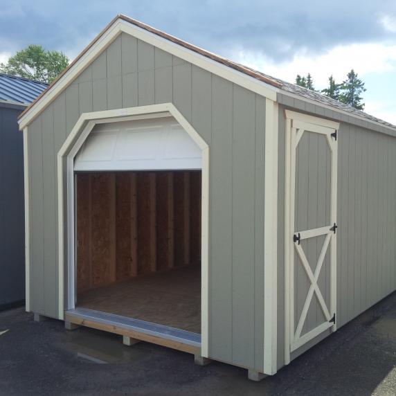 Mini garage series storage sheds better way