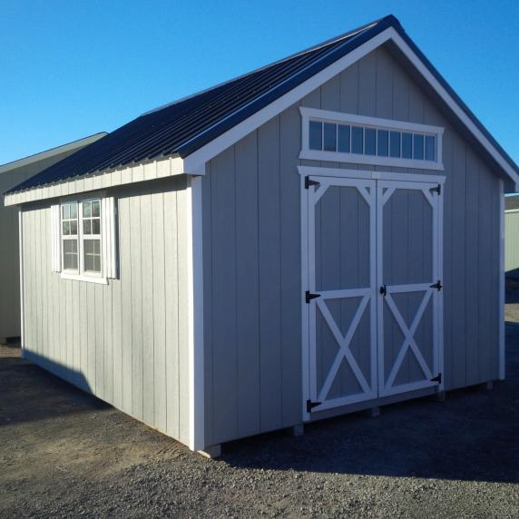 gray cape cod shed