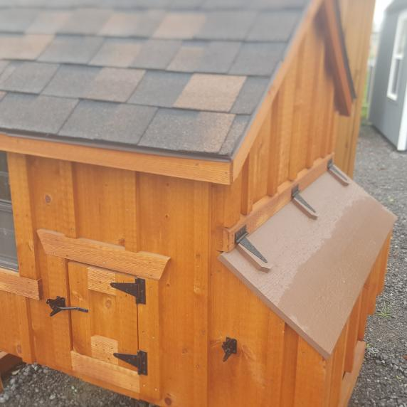 4x4 Chicken Coop A Frame Style Board And Batten Better