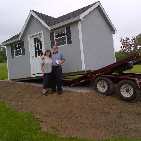 Chalet Storage Shed ontario