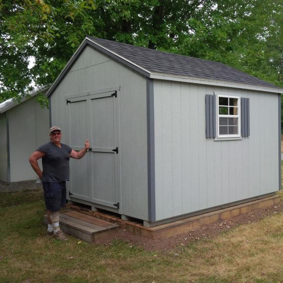 Cottage Style Wooden Storage shed belleville ontario