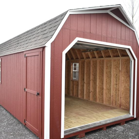 Sold thank you prince edward county better way sheds for Gambrel barn prices