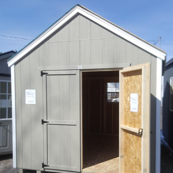 9x12 garden utility shed 3 999 better way sheds for 3999 roof