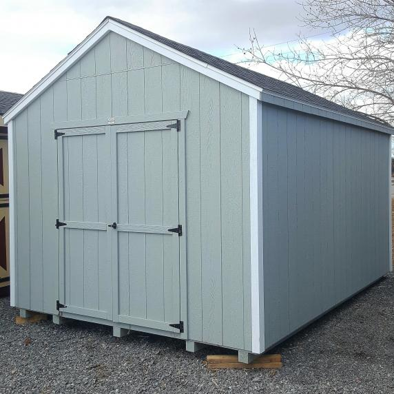 10x14 cottage style storage shed 4 699 better way sheds for Pre built storage sheds
