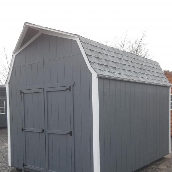 9x12 highwall style storage shed 3 999 better way sheds for Pre built storage sheds