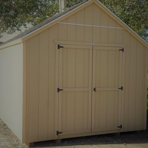 beats the box store sheds 10x10 Journey storage shed best value