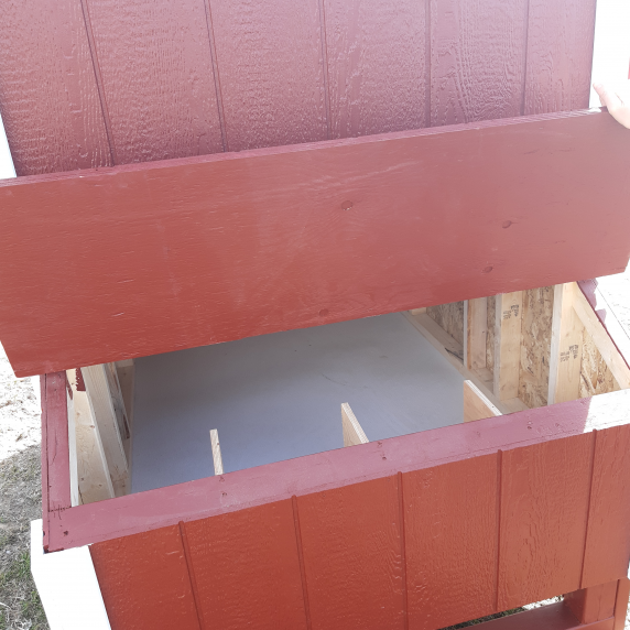 chicken coops_Canadian Coop_BetterWaySheds_outside_nesting boxes